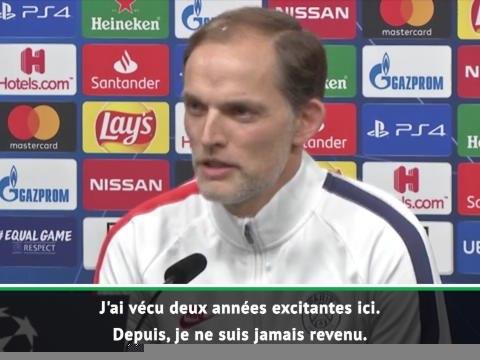 """8es - Tuchel : """"Si je n'étais pas entraîneur du PSG, je regarderais ce match"""""""