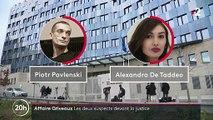 Affaire Griveaux : Piotr Pavlenski et Alexandra de Taddeo présentés à un juge