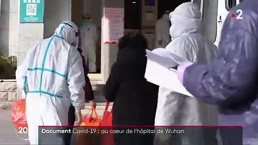 Coronavirus Covid-19 : reportage dans un hôpital de Wuhan qui lutte contre l'épidémie