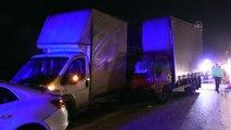 Lastiği patlayan araca yardım edenlere kamyonet çarptı: 1 ölü, 4 yaralı - BURSA