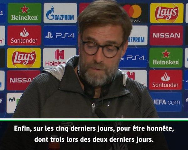 """Liverpool - Klopp : """"Moi, je suis Allemand ! J'admire ce que fait l'Atlético"""""""