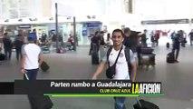 Cruz Azul parte rumbo a Guadalajara para enfrentar a Chivas