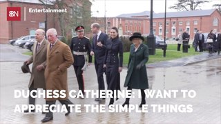 Duchess Catherine Goes Down To Earth