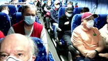 Coronavirus: Infected US citizens repatriated from Japan