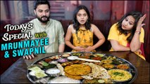Valentine's Day Special | Today's Special Ft.Mrunmayee & Swapnil | Celebrity Chat Show | Mann Fakira