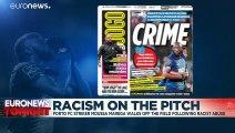 FC Porto player Moussa Marega walks off pitch after 'idiots' shout racist chants