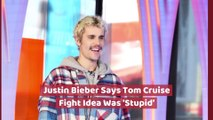 Justin Bieber Looks Back At Tom Cruise Callout