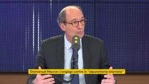 """Islamisme, réforme des retraites, Alstom... Le """"8h30 franceinfo"""" d'Eric Woerth"""
