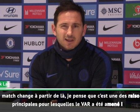 26e j.- Lampard revient sur les décisions arbitrales
