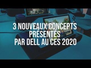 3 nouveaux concepts présentés par Dell au CES