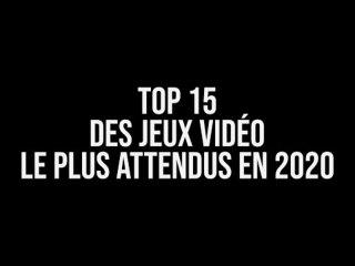 Top 15 des jeux vidéo 2020