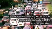 Delhi pollution, issue diluted?