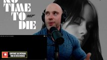 Billie Eilish - No Time To Die METALHEAD REACTION TO JAMES BOND THEME! IS IT AS BAD AS THEY SAY-!