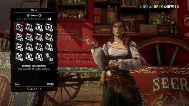 Red Dead Redemption 2 Online Localización de Objetos Colección de Herbolarios (Nuevas Ubicaciones de la colección)