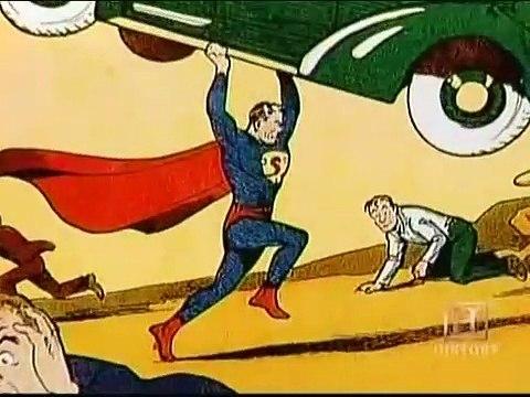 Comic Book Superheroes Unmasked Part 1