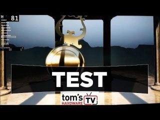 Test : démo de la techno ELMB d'Asus, écran TUF VG27AQ
