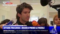 """Affaire Grivaux: Juan Branco a suggéré à Piotr Pavlenski de """"prendre un autre conseil"""""""