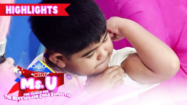 Yorme brags about his muscles | It's Showtime Mini Miss U