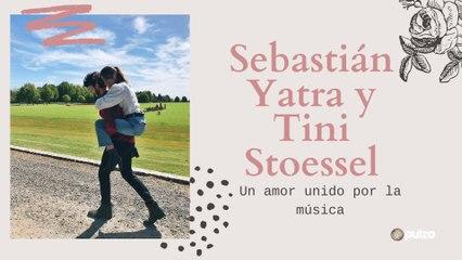 Tini Stoessel y Sebastián Yatra un amor que inició con un beso robado en público