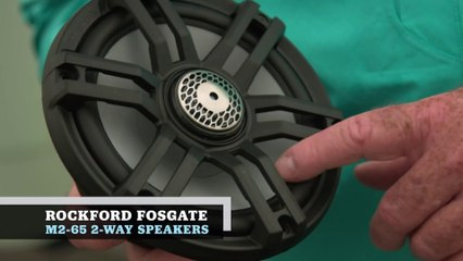 Marine Electronics Guide 2020 - Rockford Fosgate M2-65 Speakers