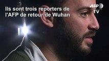 Wuhan/coronavirus: des journalistes de l'AFP témoignent