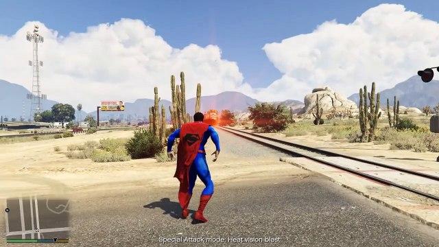 SUPERMAN vs HULK (fight)