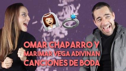 Omar Chaparro y Marimar Vega adivinan canciones de boda