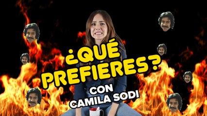 Camila Sodi juega Qué Prefieres versión Luisito Rey