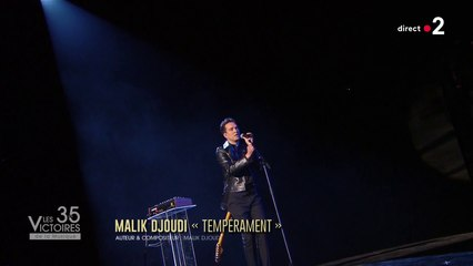 Malik Djoudi -  Tempérament (Live Les Victoires de la Musique 2020)
