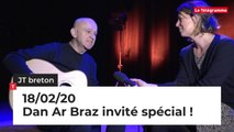 JT Breton du mardi 18 février 2020 : Dan Ar Braz invité spécial !