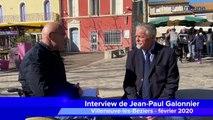 VILLENEUVE LES BEZIERS - Interview de Jean-Paul Galonnier, les yeux dans les yeux avec Paul-Éric Laurès