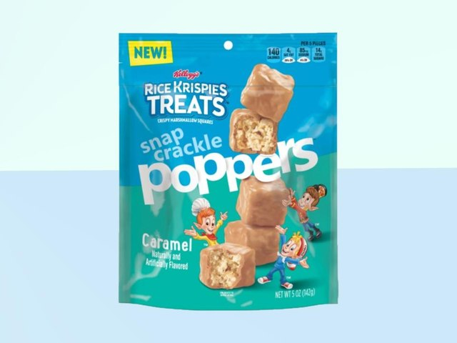 Caramel-Dipped Rice Krispies Treat Snap Crackle Poppers Are Like Pre-Baked Deliciousness