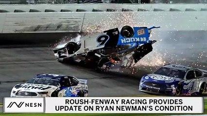 Roush Fenway Racing Issues Ryan Newman Health Update After Horrific Daytona 500 Crash