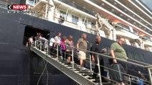 Coronavirus : une chasse à l'homme pour retrouver les 1.200 passagers débarqués d'un navire