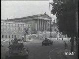 Les Spahis Marocains occupent Vienne Autriche 21 09 1945