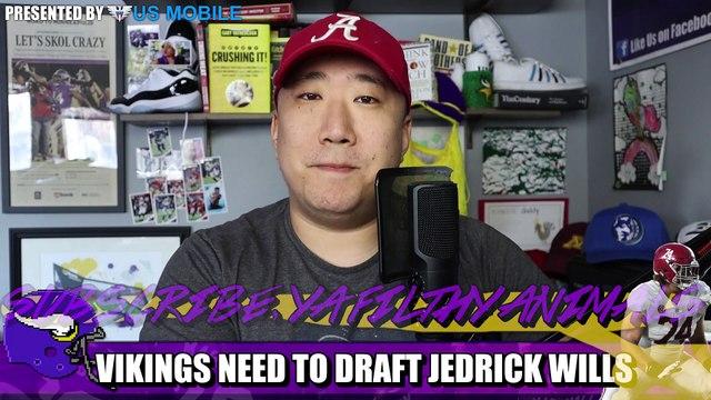 Vikings NEED to Draft Jedrick Wills