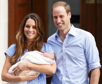 """Kate Middleton Says Her Post-Baby Photo Call with Prince George Was """"Terrifying"""""""