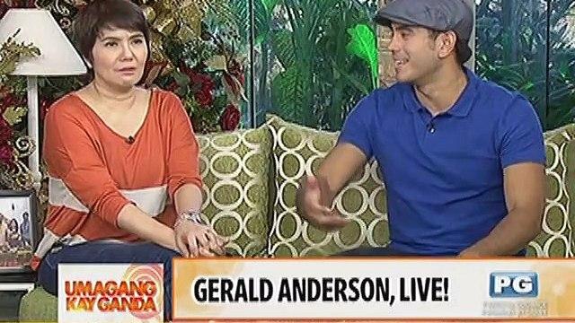 Gerald Anderson, live!