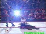 Angle, Benoit attack HHH, Rock, Benoit headbutts Stephanie Raw, 25 September 2000