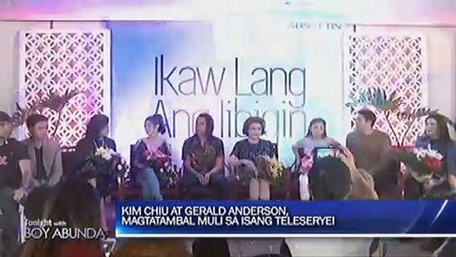 Kim Chiu at Gerald Anderson balik tambalan sa bagong teleserye ng ABS-CBN