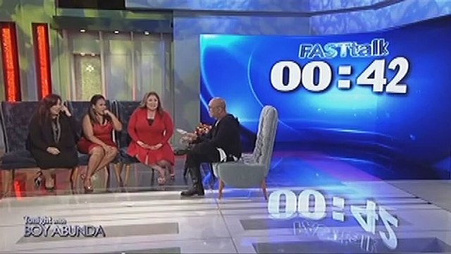 Fast Talk with Radha, Bituin and Frenchie Dy
