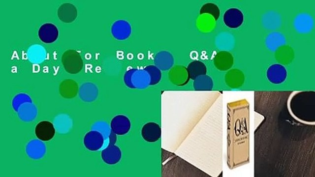 About For Books  Q&A a Day  Review