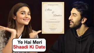 Alia Bhatt With Ranbir Kapoor REVEALS Her Marriage Date | Shocking Details