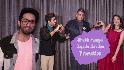 Shubh Mangal Zyada Saavdhan Promotion At JW Marriott