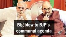 Big blow to BJP's communal agenda