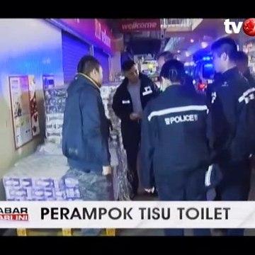 Satu Perampok Tisu Toilet Tertangkap, 1 Lainnya Buron