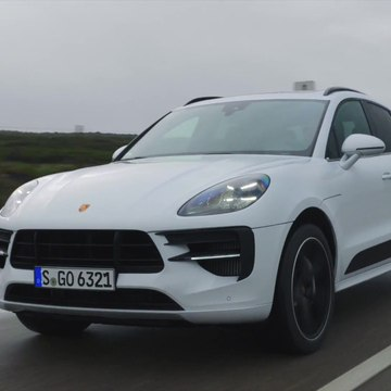 The new Porsche Macan GTS in Carrara White Driving Video