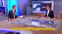 Emmanuel Macron assume sa vision anglo-saxonne de la laïcité