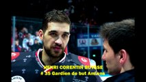 Hockey sur glace Interview Henri Corentin Buysse, # 35 Gardien de but Amiens 2020-02-16 Rouen VS Amiens (Finale Coupe de France 2020)