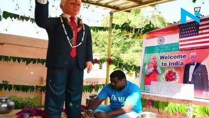 Meet Donald Trump's superfan Bussa Krishna who saw Trump in his dream